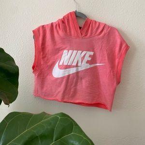 Crop top nike shirt